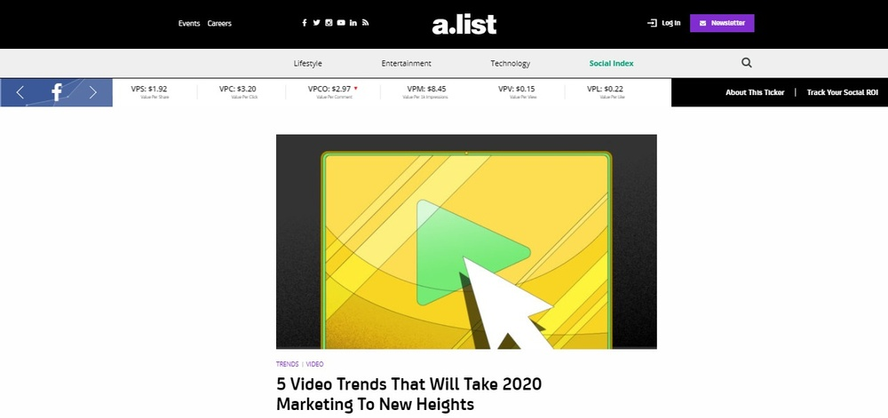 5 VIDEO TRENDS THAT WILL TAKE 2020 MARKETING TO NEW HEIGHTS