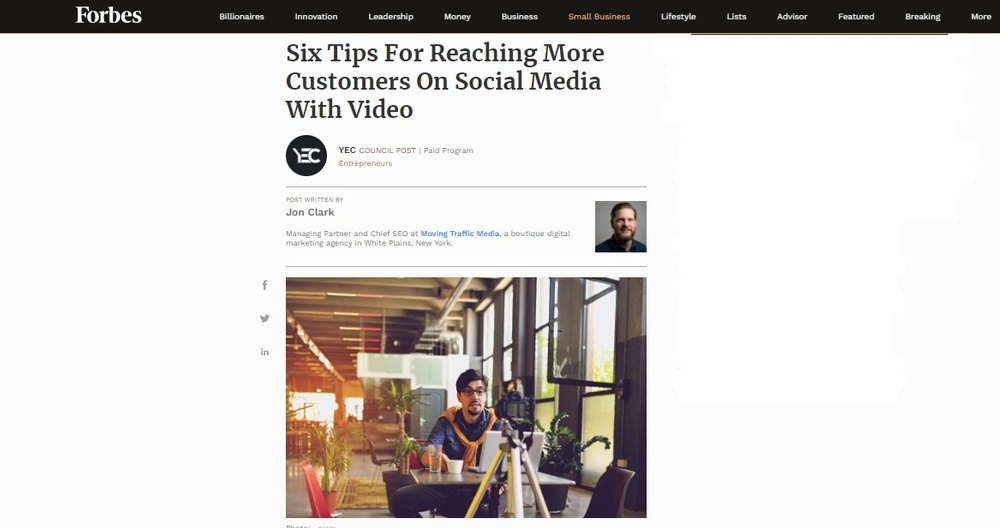 SIX TIPS FOR REACHING MORE CUSTOMERS ON SOCIAL MEDIA WITH VIDEO